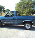 chevrolet 1500 silverado 1990 blue pickup truck gasoline v8 rear wheel drive automatic 32901