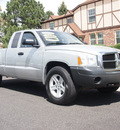 dodge dakota 2006 silver st v6 4x4 gasoline 6 cylinders 4 wheel drive automatic 80012