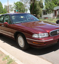 buick lesabre 1998 burgundy sedan limited gasoline v6 front wheel drive automatic 80110