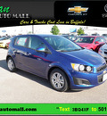 chevrolet sonic 2012 hatchback ls gasoline 4 cylinders front wheel drive 6 speed automatic 55313
