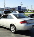 toyota camry 2001 silver coupe solara sle gasoline 6 cylinders dohc front wheel drive automatic with overdrive 60462