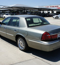 mercury grand marquis 2001 gray sedan gs gasoline 8 cylinders rear wheel drive automatic with overdrive 76087