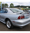 ford mustang 1998 silver coupe gt gasoline v8 rear wheel drive 5 speed manual 98632