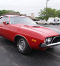 dodge challenger 1973 red coupe 440 magnum v8 automatic 61008