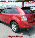 ford edge 2010 red suv se gasoline 6 cylinders front wheel drive automatic 14094