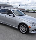 mercedes benz c class 2009 silver sedan c350 sport gasoline 6 cylinders rear wheel drive automatic 77388