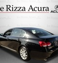 lexus gs 2006 black sedan 300 gasoline 6 cylinders rear wheel drive automatic with overdrive 60462