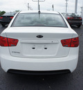 kia forte 2012 clear white sedan lx gasoline 4 cylinders front wheel drive automatic 19153