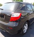toyota matrix 2010 black hatchback gasoline 4 cylinders front wheel drive automatic 60007