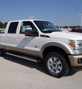 ford f 250 super duty 2012 white biodiesel 8 cylinders 4 wheel drive shiftable automatic 77388