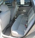 chevrolet impala 2007 silver sedan ls flex fuel 6 cylinders front wheel drive automatic 13350