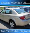 chevrolet cobalt 2005 gold sedan gasoline 4 cylinders front wheel drive automatic 13350