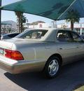 lexus ls 400 1999 gold sedan gasoline v8 rear wheel drive automatic 92235