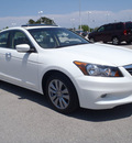 honda accord 2011 white sedan ex l v6 gasoline 6 cylinders front wheel drive automatic 28557