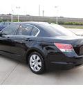 honda accord 2009 black sedan ex l gasoline 4 cylinders front wheel drive automatic 77065
