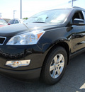 chevrolet traverse 2012 black lt gasoline 6 cylinders all whee drive automatic 60007
