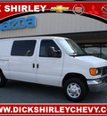 ford e series cargo 2007 white van gasoline 8 cylinders rear wheel drive automatic 27215