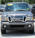 ford ranger 2010 gray xlt gasoline 4 cylinders 2 wheel drive automatic 33884