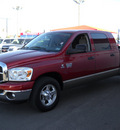 dodge ram 2500 2008 red diesel 6 cylinders rear wheel drive automatic 79925
