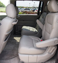 honda odyssey 2007 gray van ex l gasoline 6 cylinders front wheel drive automatic 76018