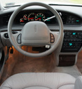 lincoln continental 1996 white sedan 4dr gasoline v8 dohc front wheel drive automatic with overdrive 76108