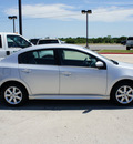 nissan sentra 2011 silver sedan 2 0 sr gasoline 4 cylinders front wheel drive automatic with overdrive 76087