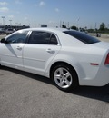 chevrolet malibu 2010 white sedan ls gasoline 4 cylinders front wheel drive 4 speed automatic 77388