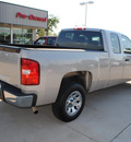chevrolet silverado 1500 2008 gray pickup truck lt1 gasoline 8 cylinders 2 wheel drive automatic 76210