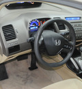honda civic 2007 beige sedan lx gasoline 4 cylinders front wheel drive automatic 91731