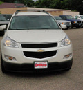 chevrolet traverse 2012 pearl lt gasoline 6 cylinders all whee drive automatic 55318