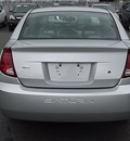 saturn ion 2003 silver sedan 2 gasoline 4 cylinders front wheel drive automatic 06019
