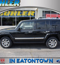 jeep commander 2008 black suv overland nav dvd gasoline 8 cylinders 4 wheel drive automatic 07724