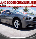 dodge charger 2011 dk  gray sedan se gasoline 6 cylinders rear wheel drive automatic 33157