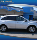 acura mdx 2009 silver suv tech pkg gasoline 6 cylinders all whee drive automatic 46219