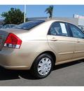 kia spectra 2009 beige sedan ex gasoline 4 cylinders front wheel drive automatic 91761
