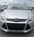 ford focus 2012 silver hatchback sel flex fuel 4 cylinders front wheel drive automatic 37087