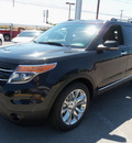 ford explorer 2013 black suv limited flex fuel 6 cylinders 2 wheel drive automatic 37087