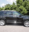 ford explorer 2013 black suv xlt flex fuel 6 cylinders 2 wheel drive automatic 37087