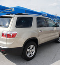 gmc acadia 2012 gold suv sl gasoline 6 cylinders front wheel drive 6 speed automatic 76206