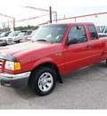 ford ranger 2003 red xlt flex fuel 6 cylinders rear wheel drive automatic 77301