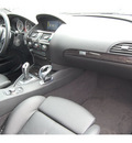 bmw 6 series 2009 gray coupe 650i gasoline 8 cylinders rear wheel drive automatic 77002