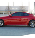 infiniti g37 2011 red coupe gasoline 6 cylinders rear wheel drive automatic 77002