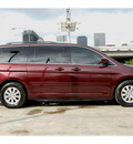 honda odyssey 2009 dk  red van ex l w dvd gasoline 6 cylinders front wheel drive automatic 77002