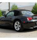 bmw z4 2006 black 3 0i gasoline 6 cylinders rear wheel drive automatic 77002
