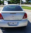 pontiac g6 2010 silver sedan gt flex fuel 6 cylinders front wheel drive 4 speed automatic 76206