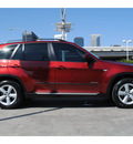 bmw x5 2009 red suv xdrive30i gasoline 6 cylinders all whee drive automatic 77002