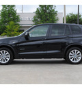 bmw x3 2011 black xdrive35i gasoline 6 cylinders all whee drive automatic 77002