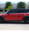mini cooper clubman 2009 red hatchback john cooper works gasoline 4 cylinders front wheel drive 6 speed manual 77002
