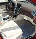 cadillac srx 2012 red luxury collection flex fuel 6 cylinders front wheel drive 6 speed automatic 76206
