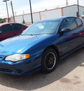 chevrolet monte carlo 2003 blue coupe ls gasoline 6 cylinders front wheel drive automatic 77301